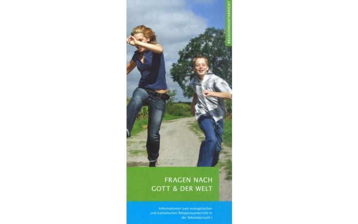 Flyer Sekundarstufe I: Fragen nach Gott und der Welt