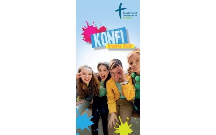 Flyer Konfi - Deine Zeit
