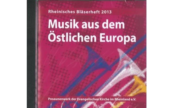 CD Musik aus dem östlichen Europa (Posaunenwerk Rheinland)