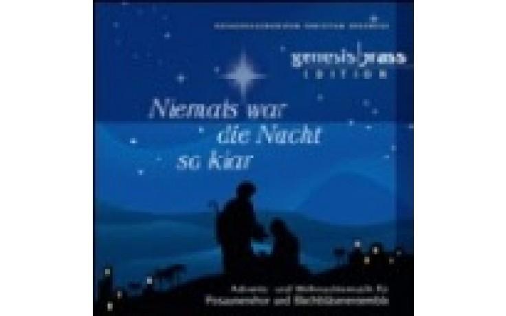 CD Niemals war die Nacht so klar (Genesis Brass)