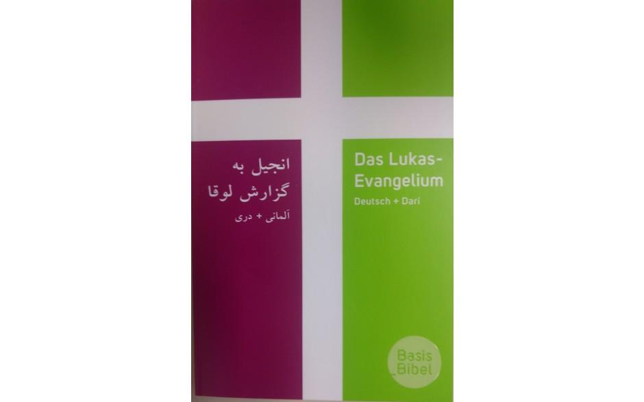 Zweisprachiges Lukas-Evangelium Dari-Deutsch