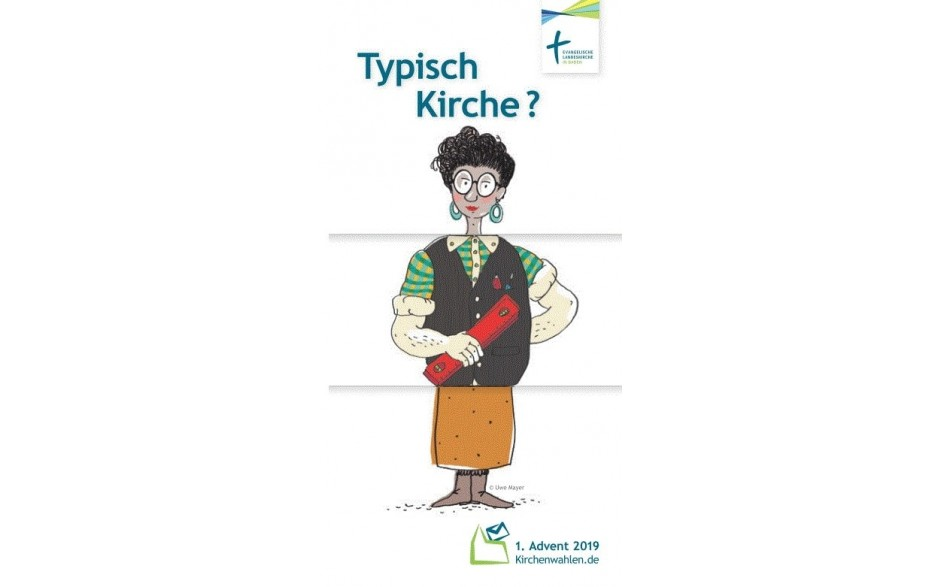 """Flyer """"Typisch Kirche?"""""""