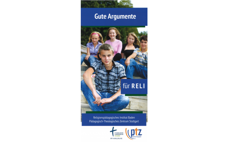 Flyer 10 gute Argumente für Reli