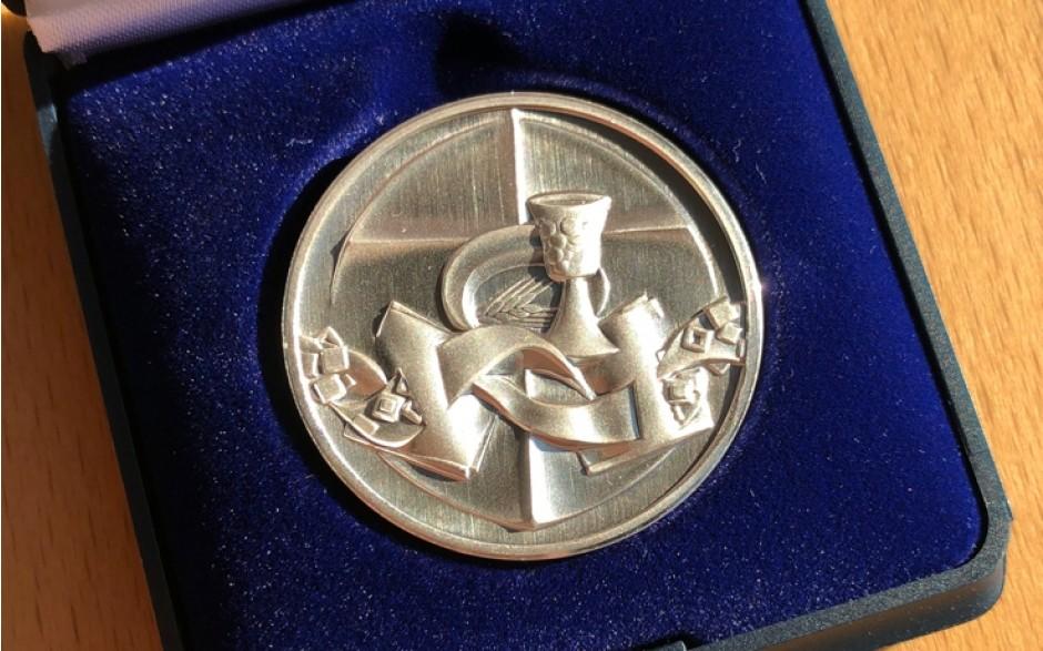 Medaille Silber - 200 Jahre Evangelische Landeskirche in Baden