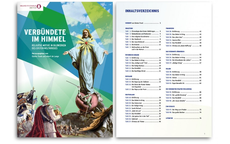 Verbündete im Himmel - Religiöse Motive in Bildwerken des Ersten Weltkrieges