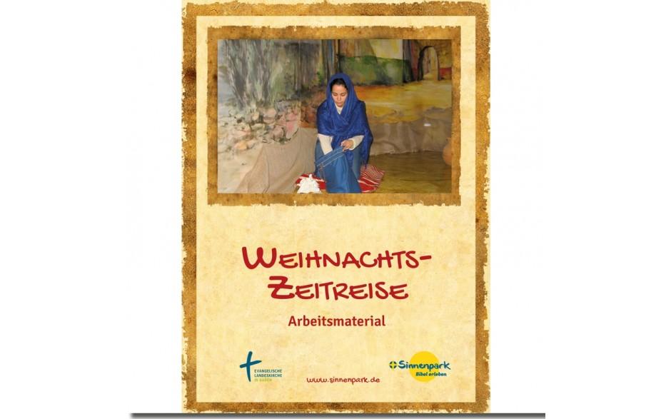 Weihnachtszeitreise Die lebendige Krippe - Material-DVD plus Handbuch der Sinnenarbeit