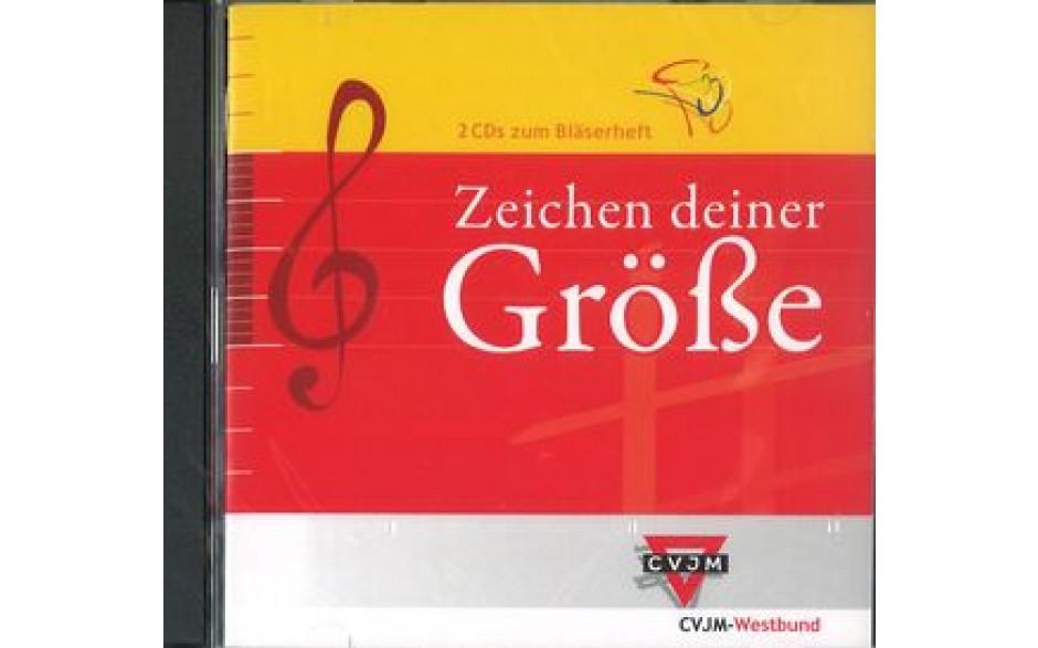 CD Zeichen deiner Größe (CVJM-Westbund) Doppel-CD