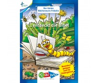 KiBiWo für Kindergarten Bücherwurm Fridolin ... entdeckt die Bibel