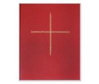 Liturgieordner/Agenden-Ringbuch rot A5