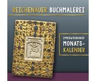 Reichenauer Buchmalerei - immerwährender Monatskalender