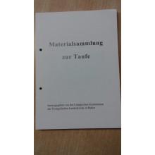 Materialsammlung zur Taufe für die Evangelische Landeskirche in Baden, 2016, Loseblattsammlung