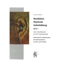 Musiklehre, Rhythmik, Gehörbildung Band 1