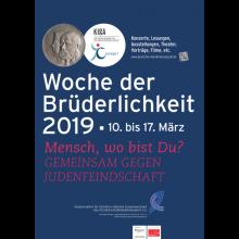 """""""Woche der Brüderlichkeit"""" vom 10. bis 17. März 2019"""
