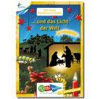 KiBiWo für Kindergarten Bücherwurm Fridolin ... und das Licht der Welt (Weihnachten)