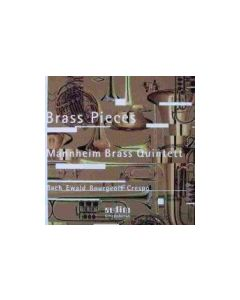 CD Brass Pieces (Mannheim Brass Quintett)