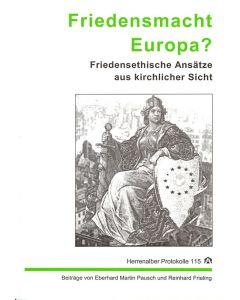 Friedensmacht Europa?