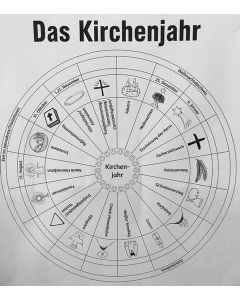 KOKO konkret Sekundarstufe 1 Klassen 5 und 6 Kirchenjahrplakat