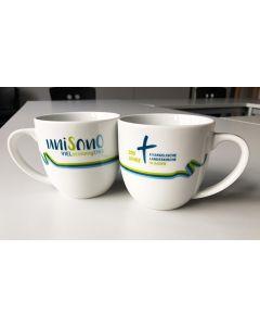 unisono - Tasse mit Unisonoband in weiß