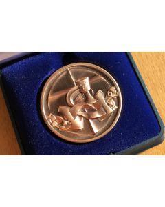 Medaille Bronze - 200 Jahre Evangelische Landeskirche in Baden